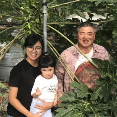 阿華老媽與老爹的木瓜